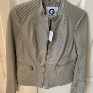 Guess Jackets & Coats - Guess faux leather jacket